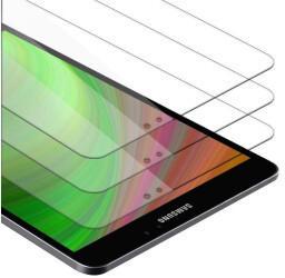 """Cadorabo 3x Tablet Panzer Folie Tempered für Samsung Galaxy Tab S3 (9.7"""" Zoll) SM-T820NT825N, Schutzfolie in 9H Härte"""