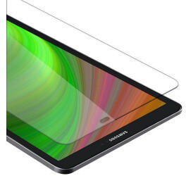 Cadorabo Panzer Folie Tempered für Samsung Galaxy Tab A 2016 (10.1) SM-T585NT580N, Schutzfolie in 9H Härte