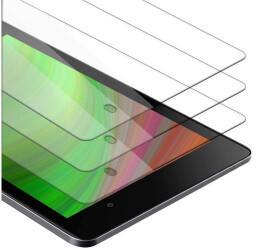 Cadorabo 3x Tablet Panzer Folie Tempered für Asus Google Nexus 7 FHD 2. Gen., Schutzfolie in 9H Härte