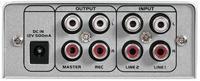 Omnitronic GNOME-202 Mini-DJ-Mixer Silber