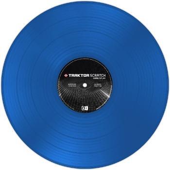 Native Instruments Traktor Scratch MKII Control Vinyl blau