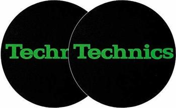 Technics Slipmat grün