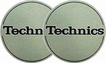 Technics Slipmat metallic-grün