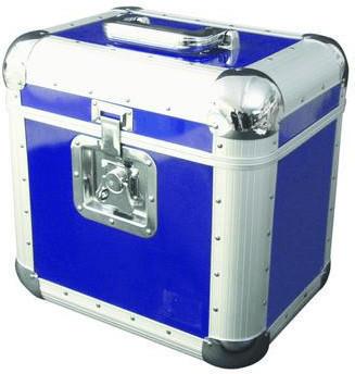 Omnitronic 30110036 Platten-Case ALU 75/25 - Blau