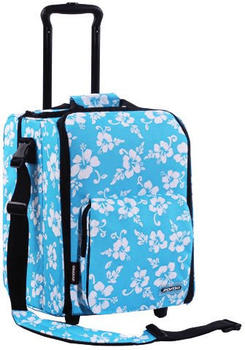 Zomo CD-Trolley Premium - Flower Blau