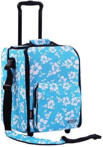Zomo CD-Trolley Premium - Flower Blau