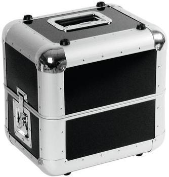 Roadinger Platten-Case ALU 50/50 abgerundet - schwarz