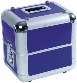 Roadinger Platten-Case ALU 50/50 abgerundet - blau