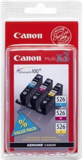 Canon CLI-526CL Multipack 3-farbig (4541B006)