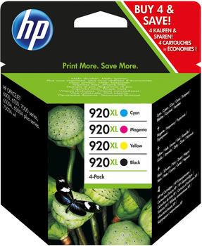HP Nr. 920XL Multipack 4-farbig (C2N92AE)