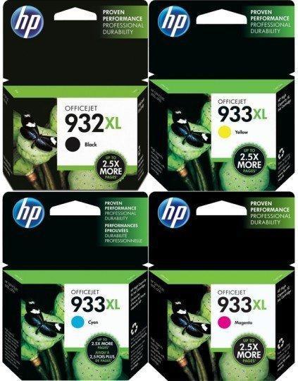 HP Nr. 932XL/933XL Multipack 4-farbig (C2P42AE)