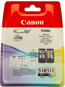 Canon PG-510/CL-511 Multipack 4-farbig (2970B010)
