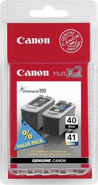 Canon PG-40 + CL-41 Multipack 4-farbig (615B043)
