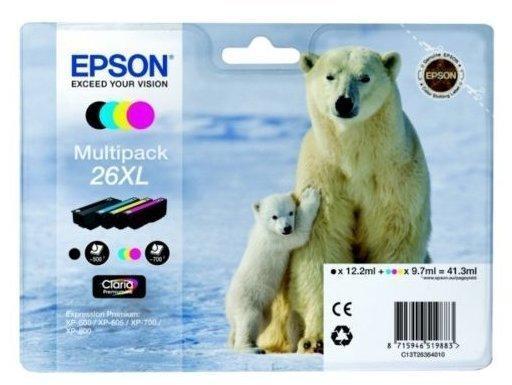 Epson 26XL Multipack 4-farbig (C13T26364010)