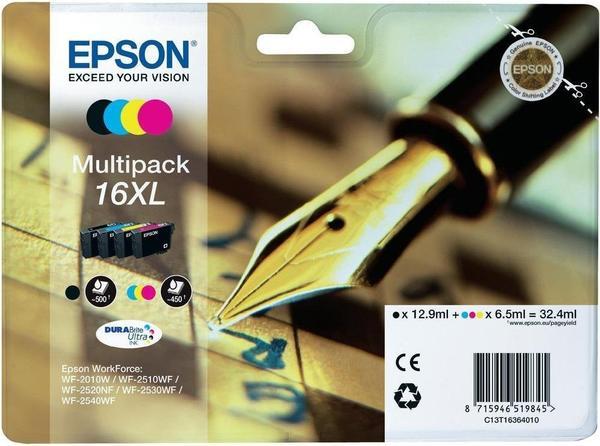 Epson 16XL Multipack 4-farbig (C13T16364010)