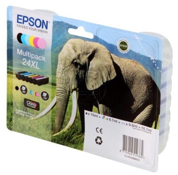 Epson 24XL Multipack 6-farbig (C13T24384010)