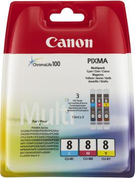Canon CLI-8 Multipack 3-farbig (621B026)