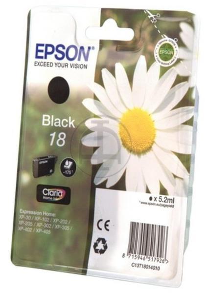 Epson 18 schwarz (C13T18014010)