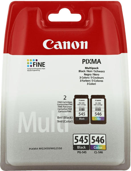 Canon PG-545/CL-546 Multipack 4-farbig (8287B005)