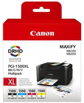 Canon PGI-1500 Multipack 4-farbig (9218B005)
