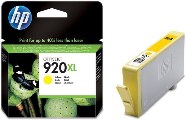 HP Nr. 920XL gelb (CD974AE)