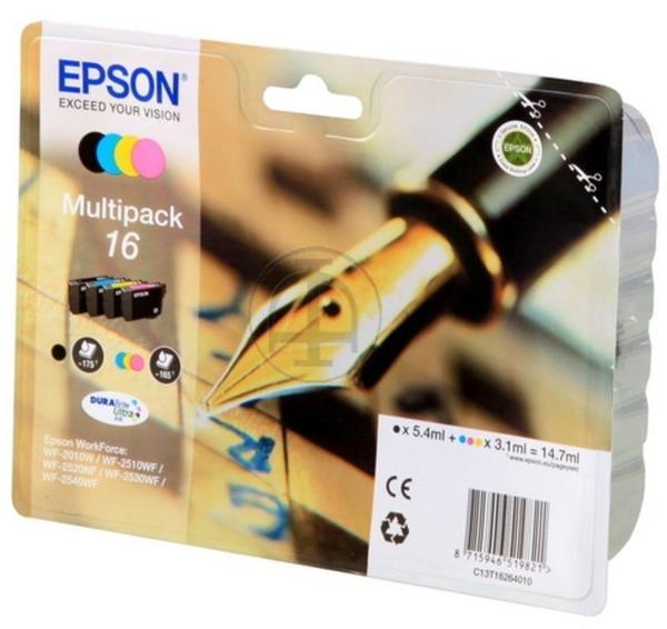 Epson 16 Multipack 4-farbig (C13T16264010)