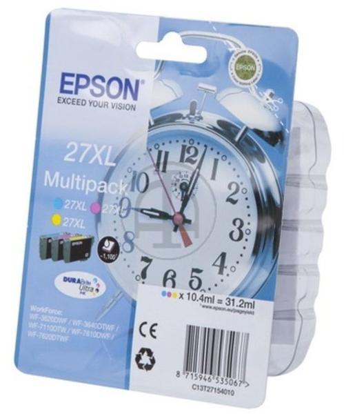Epson 27XL Multipack 3-farbig (C13T27154010)