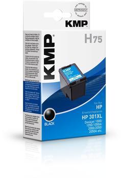 KMP H75 ersetzt HP 301XL schwarz (1719,4001)