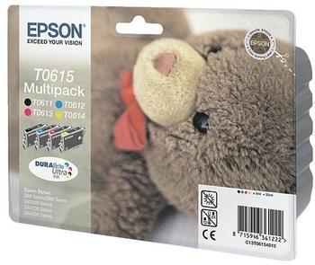 Epson T0615 Multipack 4-farbig (C13T06154010)