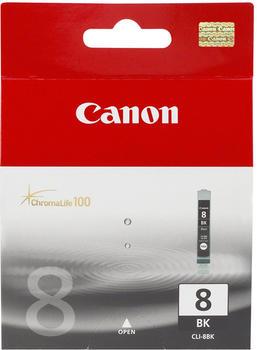 HQ Patronen 41001P-C ersetzt Canon CLI-8BK fotoschwarz