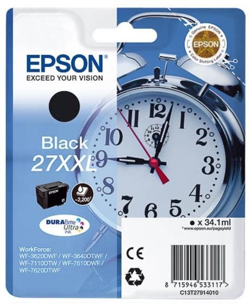 Epson 27XXL schwarz (C13T27914010)