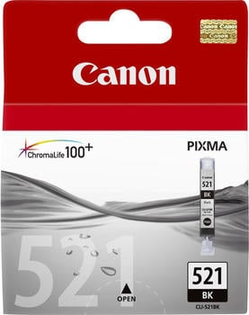 kompatible Ware kompatibel zu Canon CLI-521BK schwarz