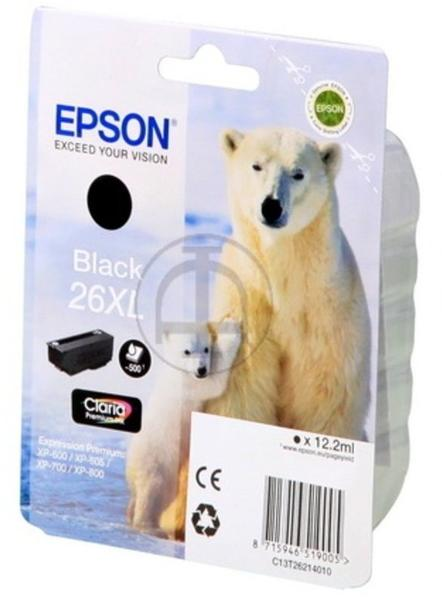 Epson 26XL schwarz (C13T26214010)