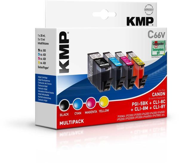 KMP C66V ersetzt Canon PGI-5BK/CLI-8 (1504,0005)