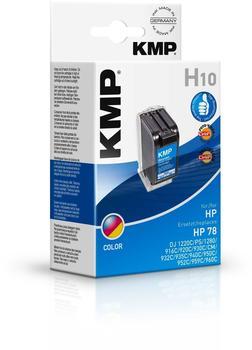 KMP H10 ersetzt HP 78 color (0992,4780)