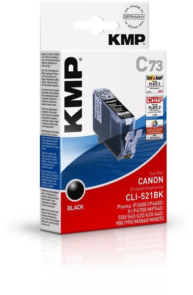 KMP C73 ersetzt Canon CLI-521BK schwarz (1509,0001)