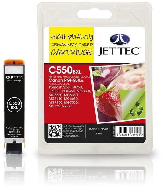 JetTec CP50B ersetzt Canon PGI-550 schwarz