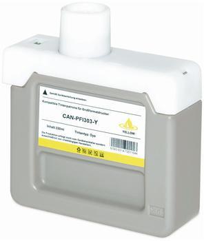 logic-seek-tintenpatrone-fuer-canon-pfi303-yellow-330ml