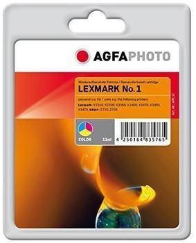 AgfaPhoto APL1C ersetzt Lexmark 18CX781E color