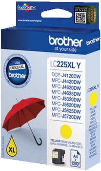 brother-lc-225xl-gelb