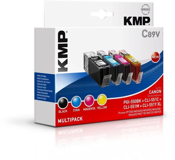 KMP C100V ersetzt Canon PGI-550PGBK/CLI-551XL (1519,0050)