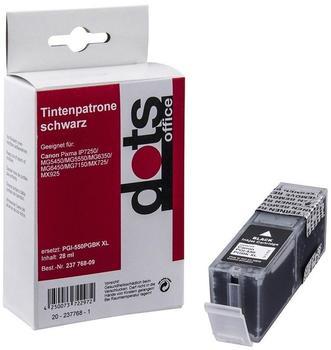 Dots Office 1518,0001 ersetzt Canon PGI-550BKXL schwarz