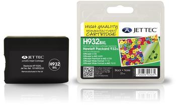 JetTec H932BXL ersetzt HP 932XL schwarz