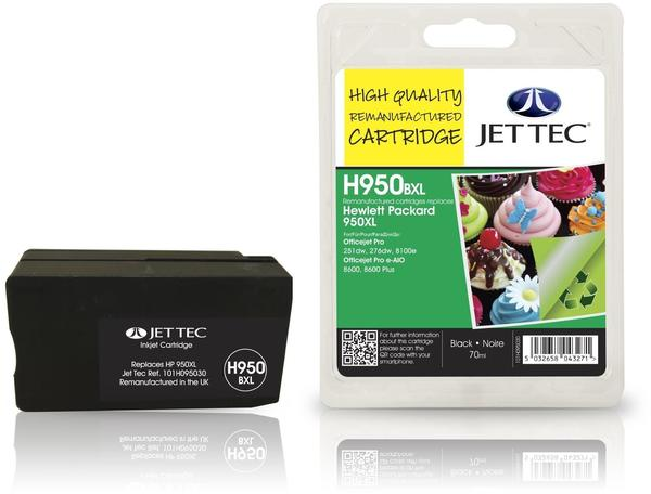 JetTec H950BXL ersetzt HP 950XL schwarz