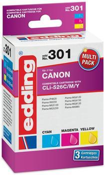 edding-kompatibel-zu-canon-cli-526-cmy
