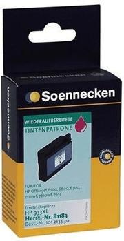 Soennecken 81183 ersetzt HP 933XL magenta