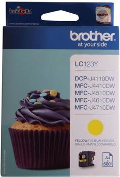 Brother LC-123Y gelb