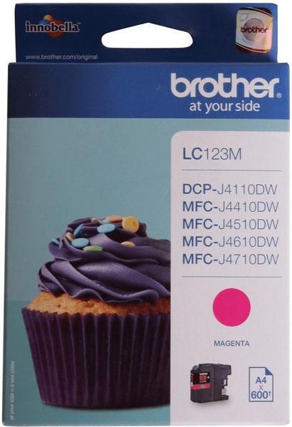Brother LC-123M magenta