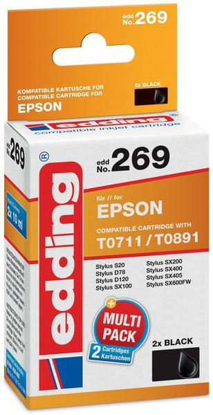 edding EDD-269 ersetzt Epson T0711 schwarz