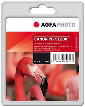 AgfaPhoto APCPG512B ersetzt Canon PG-512 schwarz